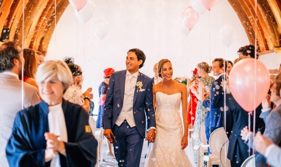 De hele huwelijksdag op één trouwlocatie