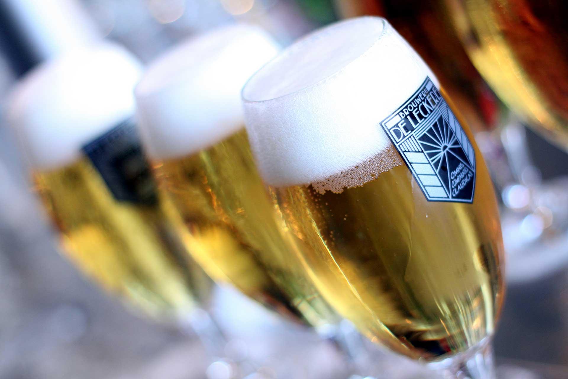 Leckere Bierproeverij